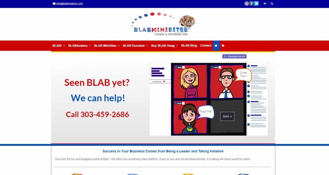BLAB Minisites