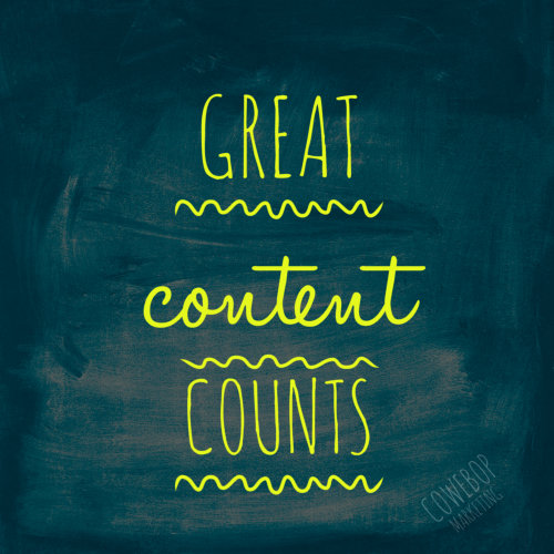 Great Content Makes a Difference to a Website