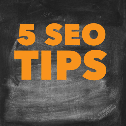 Five Tips For SEO and building a website (my pet peeves)