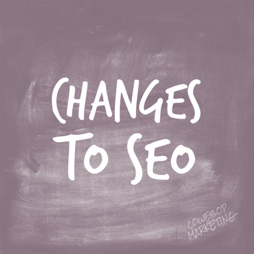 Changes To SEO Introduced By Google
