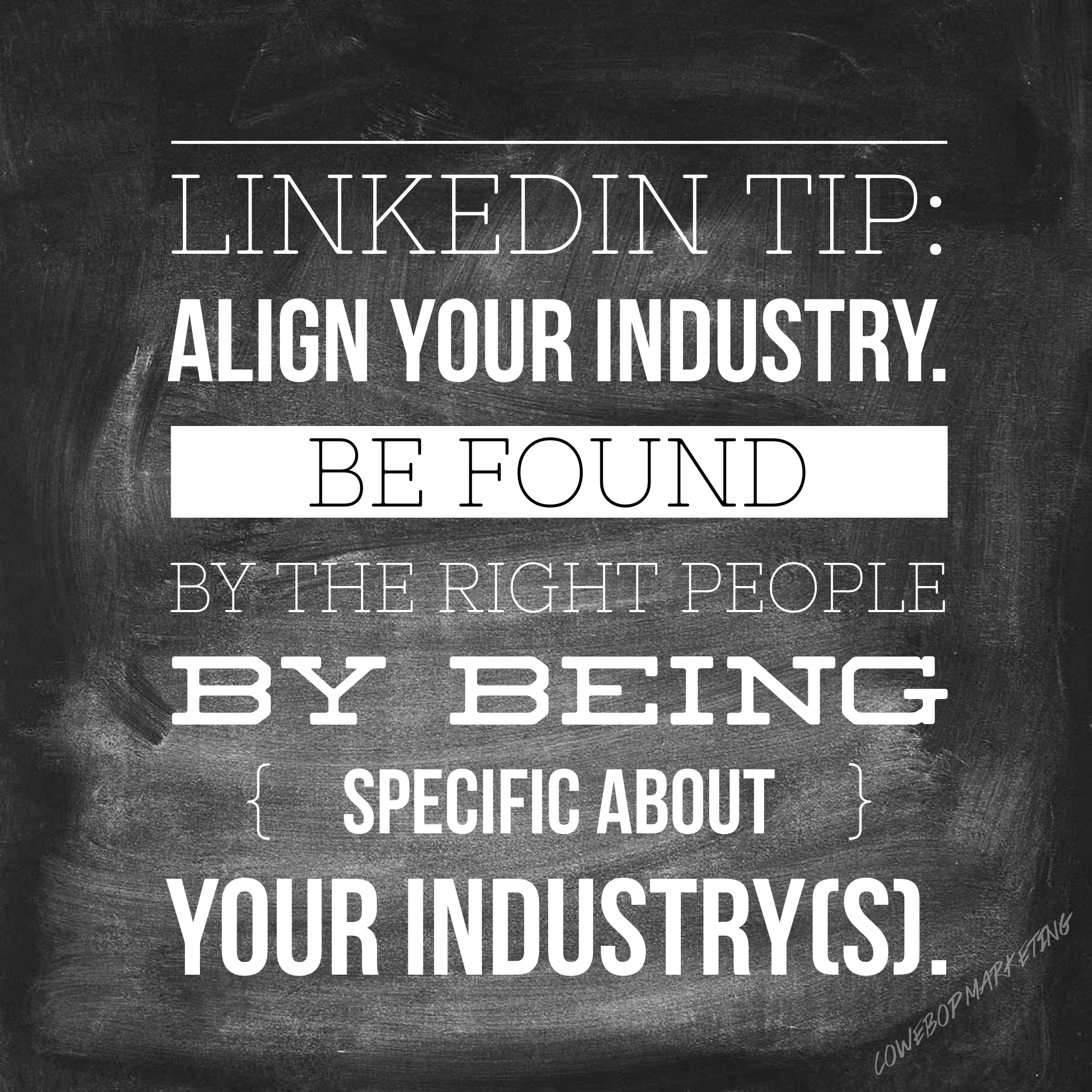 LinkedIn Infographic Tips