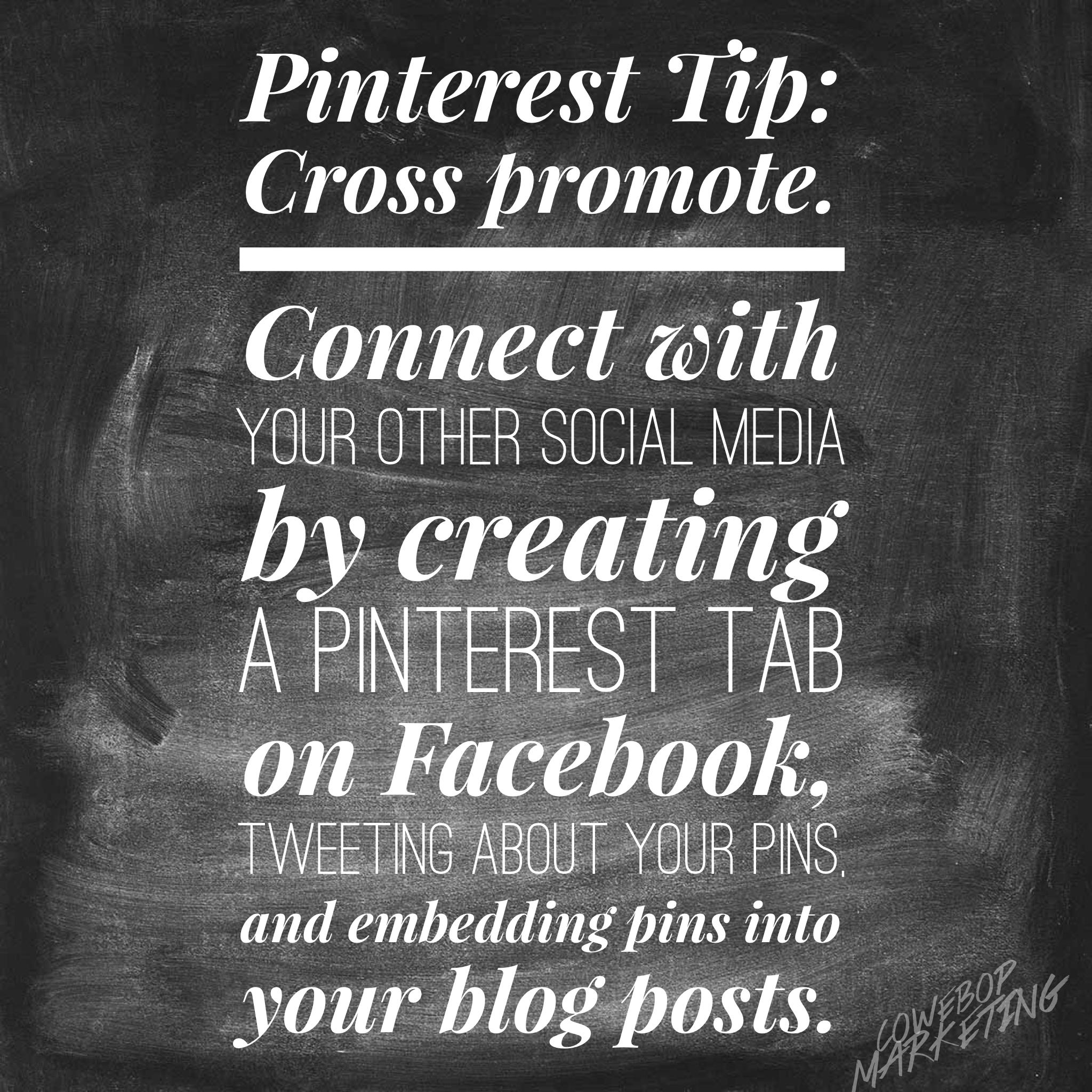 Pinterest Infographic Tips