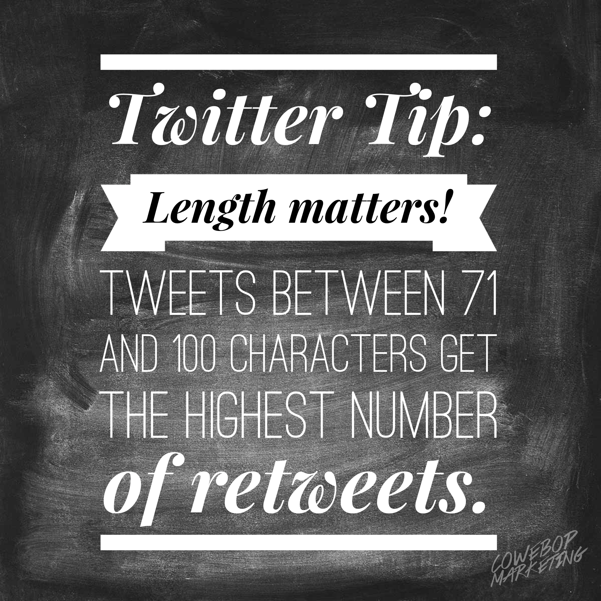 Twitter Infographic Tips